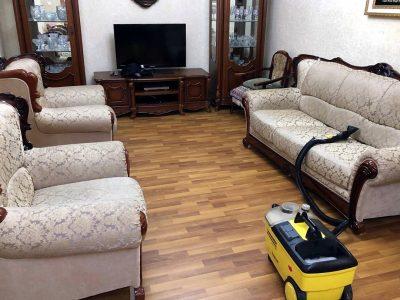 Чистка мебели на дому Новосибирск