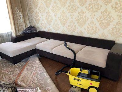 Чистка мягкой мебели в Новосибирске