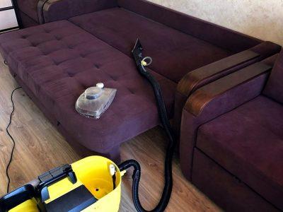Химчистка дивана на дому в Новосибирске
